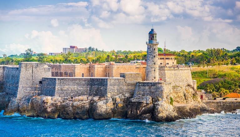 Kuba - La Cabana an der Bucht von Havanna
