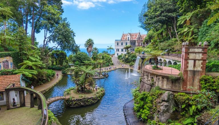 Madeira - Monte Palace Tropican Garden.