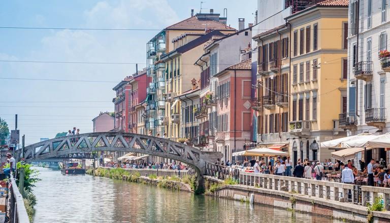 Mailand-Navigli.
