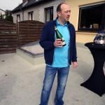 Marc Krier bei der Weinprobe