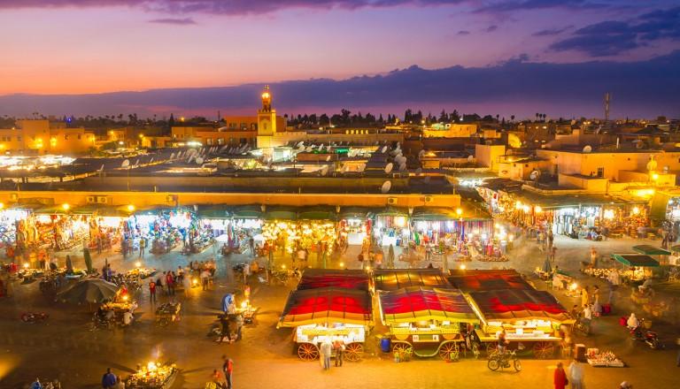Marrakesch-Partyurlaub