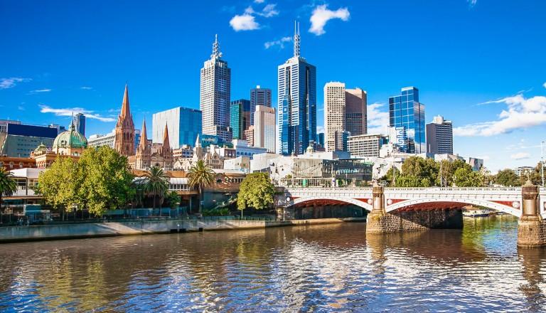 Melbourne-Staedtereisen