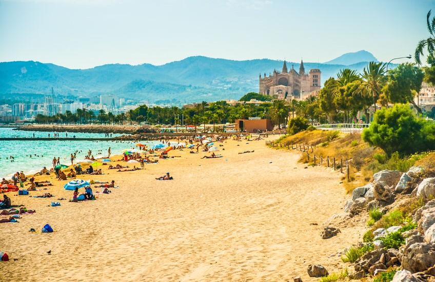 Palma-de-Mallorca-Sommer