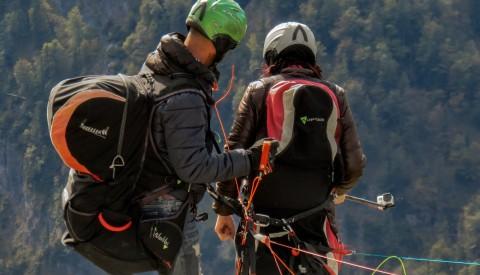 Paragliding vom Berg Babadag