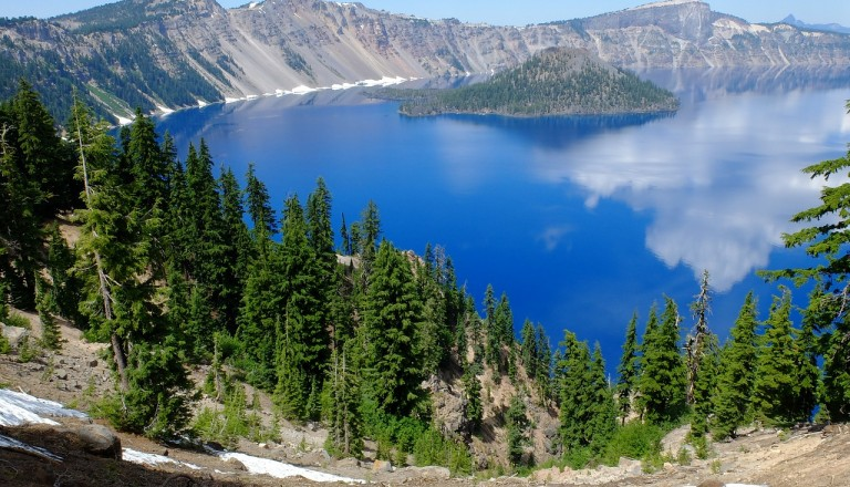 Pazifischer Nordwesten - Crater-lake