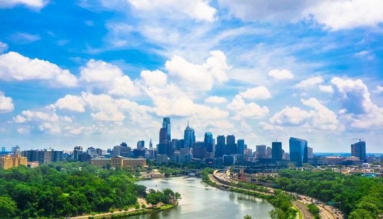 Philadelphia-Badeurlaub