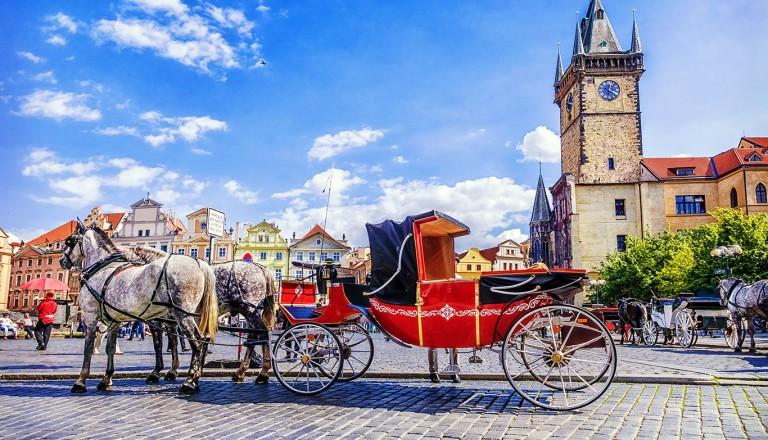 Prag-Fiaker-Fahrt