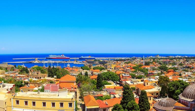 Rhodes- Stadt