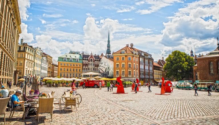 Riga-Altstadt.