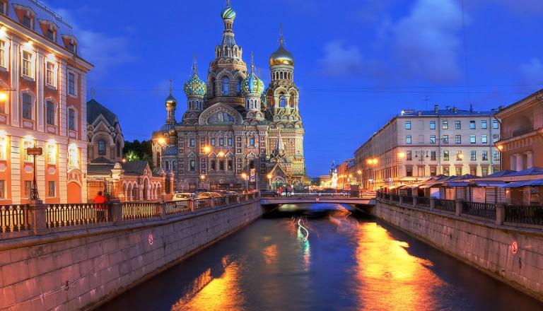 Sankt-Petersburg-Nachtleben