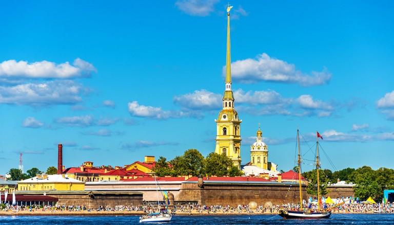 Sankt-Petersburg-Peter-und-Paul-Festung