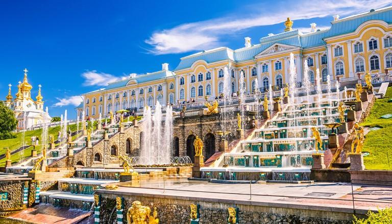 Sankt-Petersburg-Schloss-Peterhof.