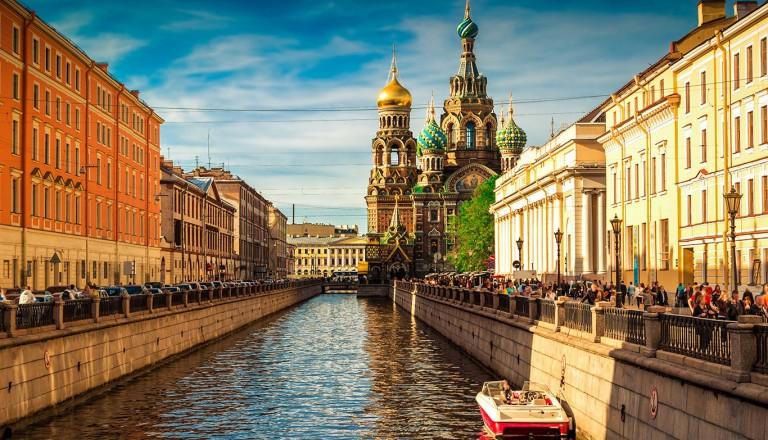 Sankt-Petersburg-Staedtereise