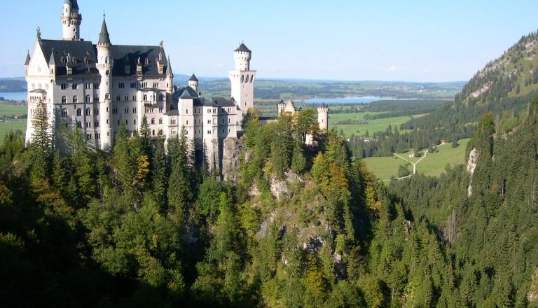 Scloss Neuschwanstein in Bayern
