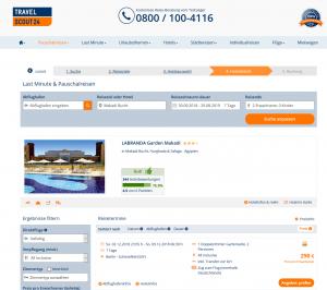 Screenshot Deal Hotel Labranda Makadi Garden Hurghada Ägypten