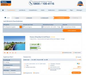 Deal Screenshot Pestana Viking Beach Algarve Portugal