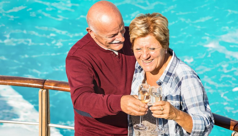 Seniorenurlaub - Kreuzfahrt