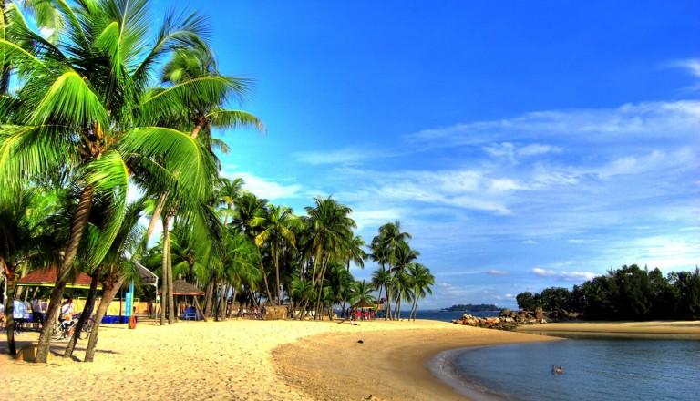 Singapur - Siloso Beach