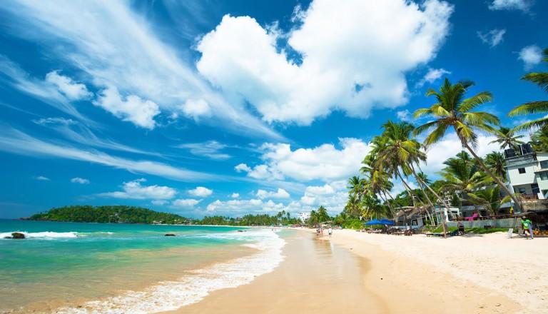 Sri-lanka - Hikkaduwa Beach
