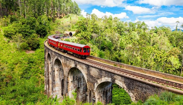 Sri-lanka - Historische Zugfahrt