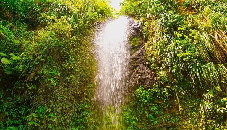 St-Lucia - Diamond Falls