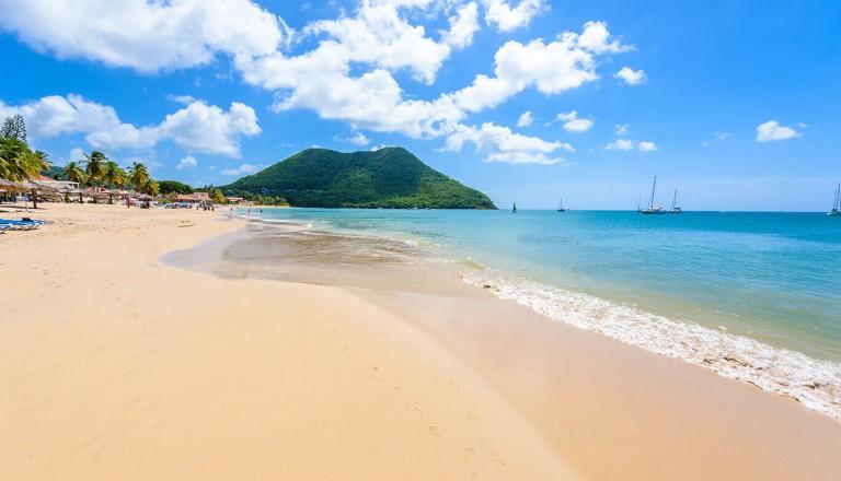 St-Lucia - Reduit Beach