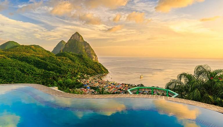 St-Lucia - Reisezeit
