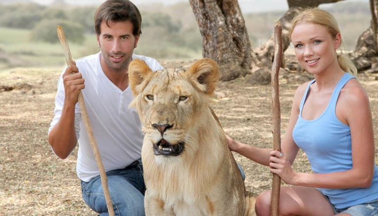 Suedafrika - Lion Park in Johannesburg