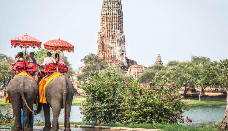 Thailand - Geschichtspark Ayutthaya