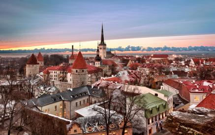 Die Altstadt von Tallinn (Estland)