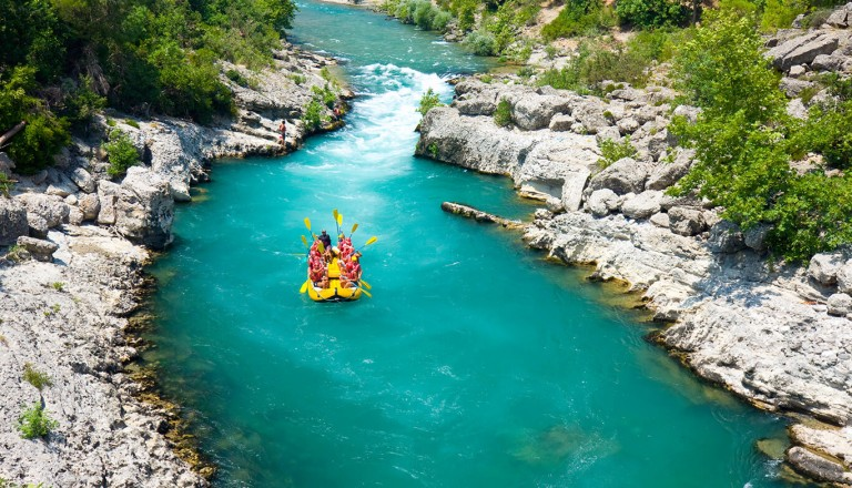 Tuerkei - Rafting im Koprulu-Kanyon-Nationalpark
