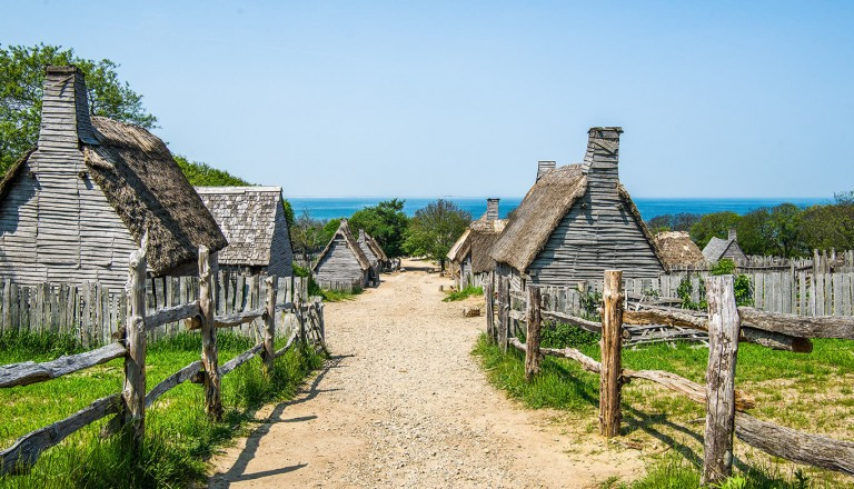 USA - Plimoth Plantation in Plymouth