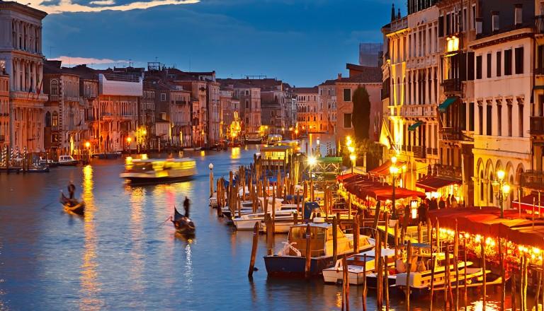 Venedig-Partyurlaub-Nachtleben