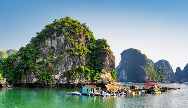 Vietnam - Halong Bucht