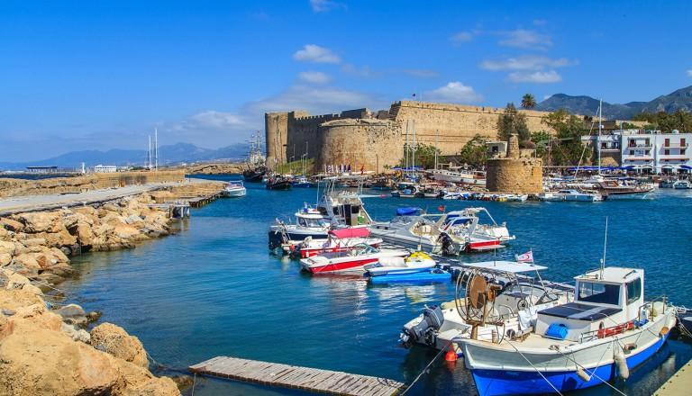 Zypern - Festung Kyrenia in Girne