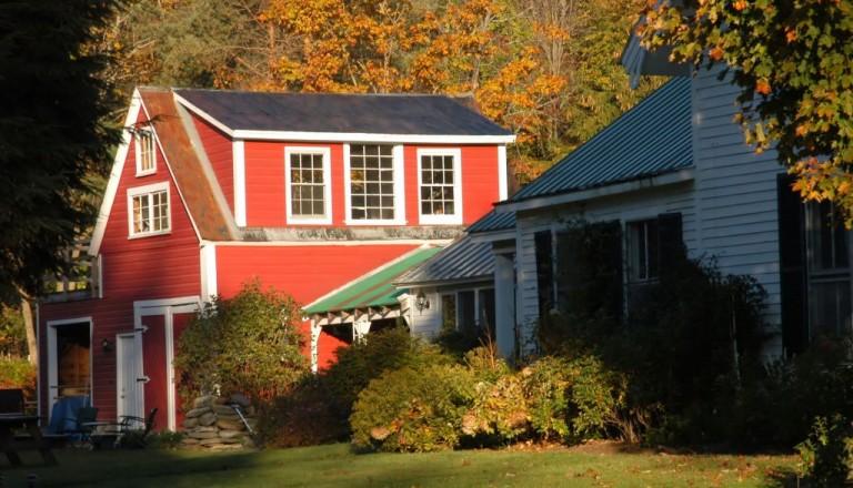Die besondere Unterkunft: Typisches Farmhaus in Vermont