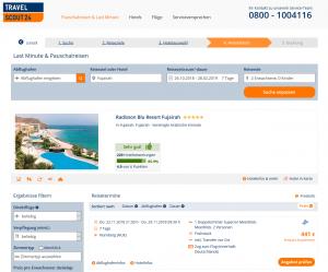 Screenshot Deal Radisson Blu Fujairah, Vereinigte Arabische Emirate