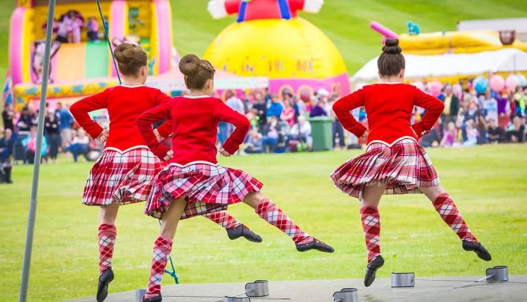 Highland Games in Schottland