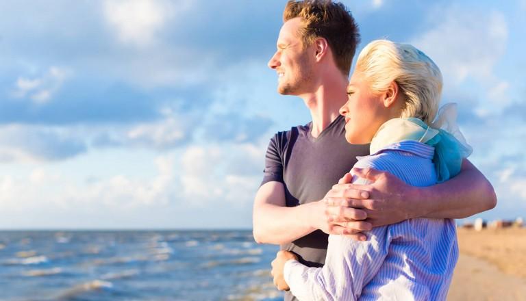 Hochzeitsreisen ans Meer