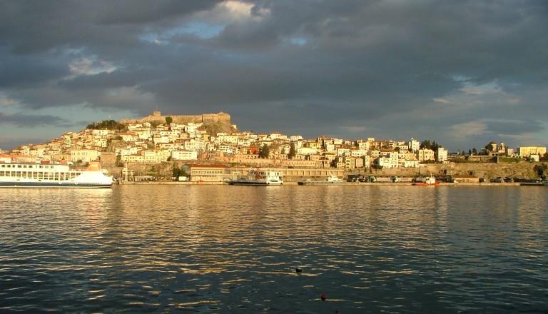 Die wunderschöne Hafenstadt Kavala.