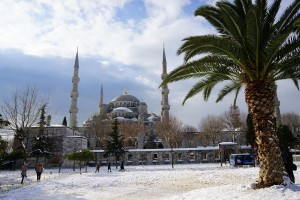 Türkei Schnee Ski Berg