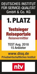 TravelScout24.de bestes Reiseportal 2018