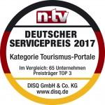 TravelScout24 Testsieger deutscher Servicepreis