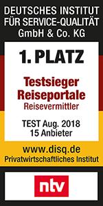 TravelScout24 Testsieger Reiseportale
