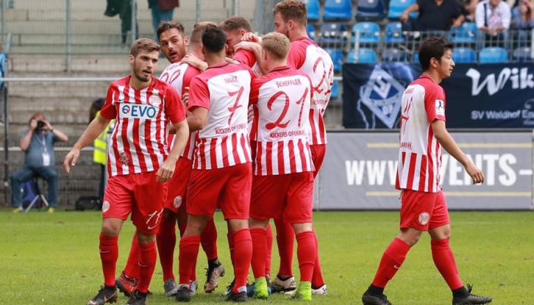 Offenbacher - Kickers - Mannschaft