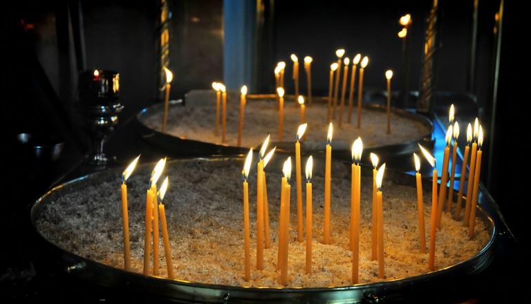 Ostern in Griechenland - Kirche