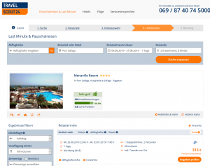 Screenshot Ägypten Deal 4* Menaville Resort