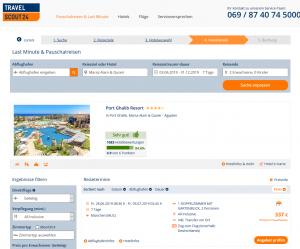 Screenshot Ägypten Deal Port Ghalib Resort