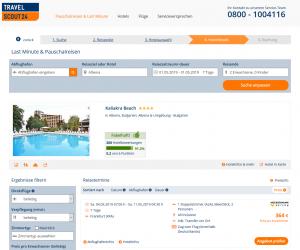 Screenshot Bulgarien Deal Kaliakra Beach