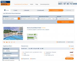 Screenshot Bulgarien Deal Marina Grand Beach Hotel
